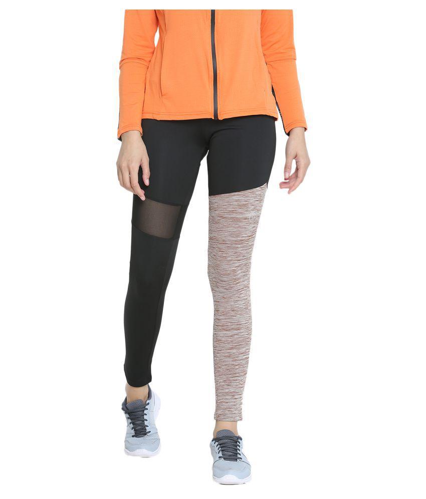 CHKOKKO Mesh Yoga Gym and Active Sports Fitness Tights High Waist Sports Yoga Pants for Women