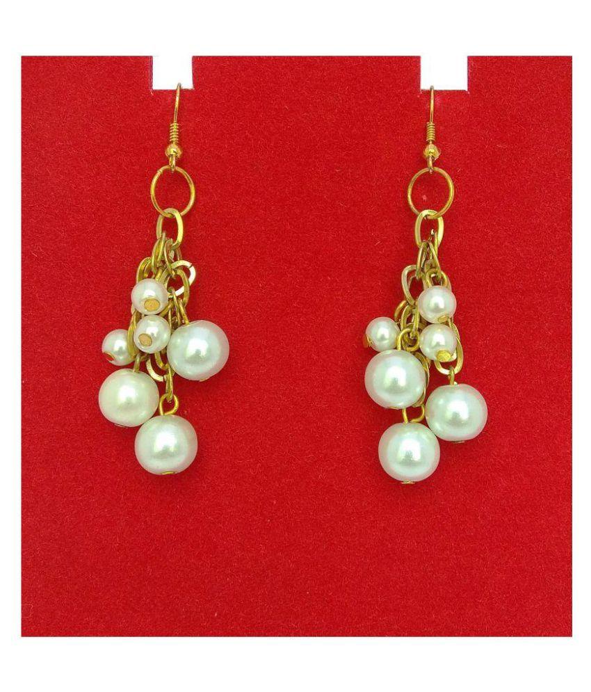 abhisu antique jewellery Pearl earrings for girls stylish latest party wear