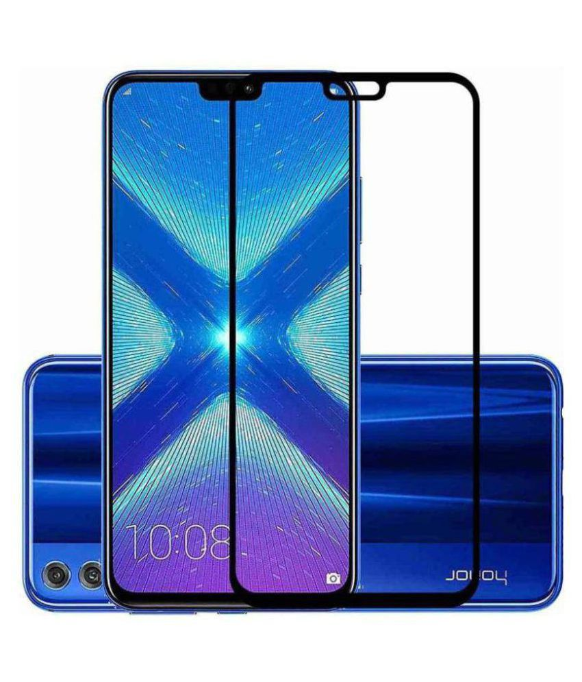 Honor 8X 6D Screen Guard By BS POWER Full Tempered Glass 6D