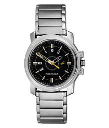Fastrack Watch 3039SFG with Round Dial Speed Time in Stainless Steel Analog Men's Watch