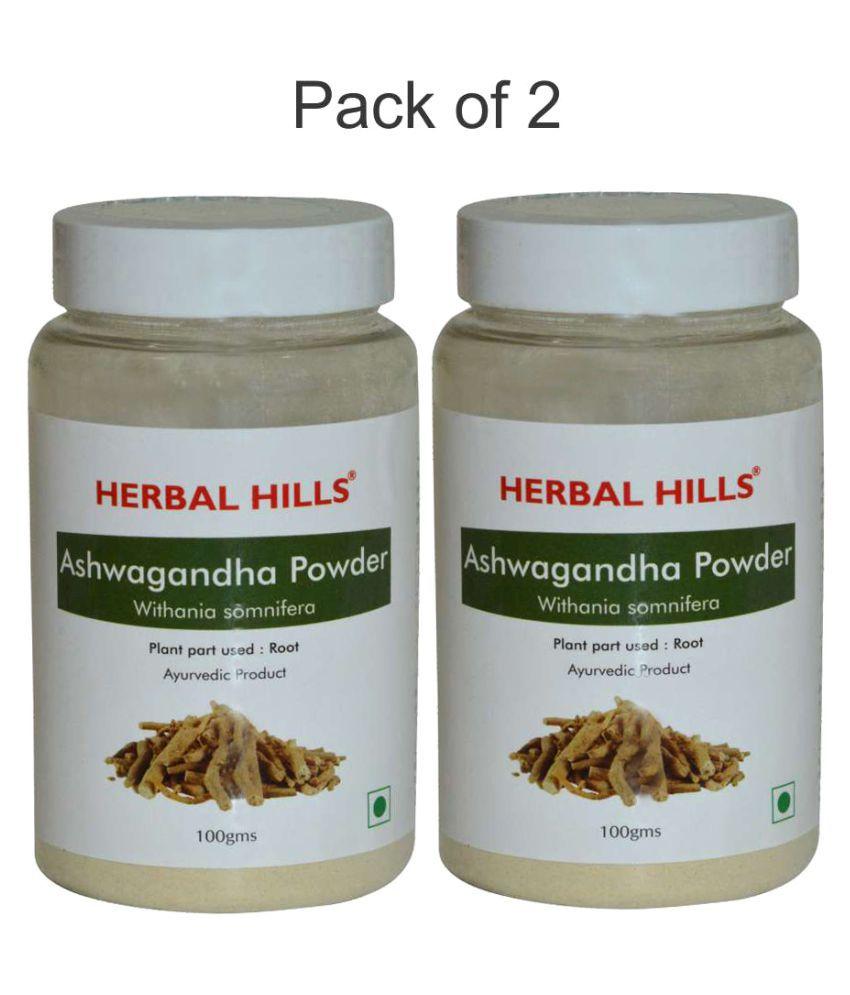 Herbal Hills Ashwagandha Powder Powder 200 gm Pack Of 2