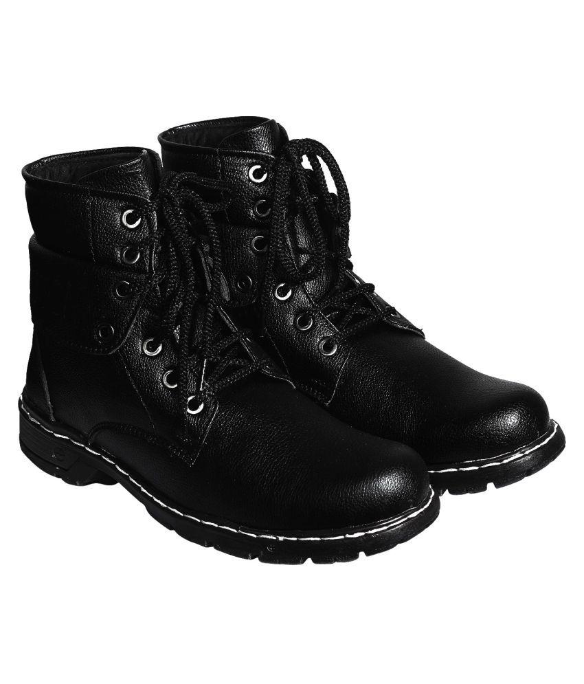 Style Height Black Hiking & Trekking Boot