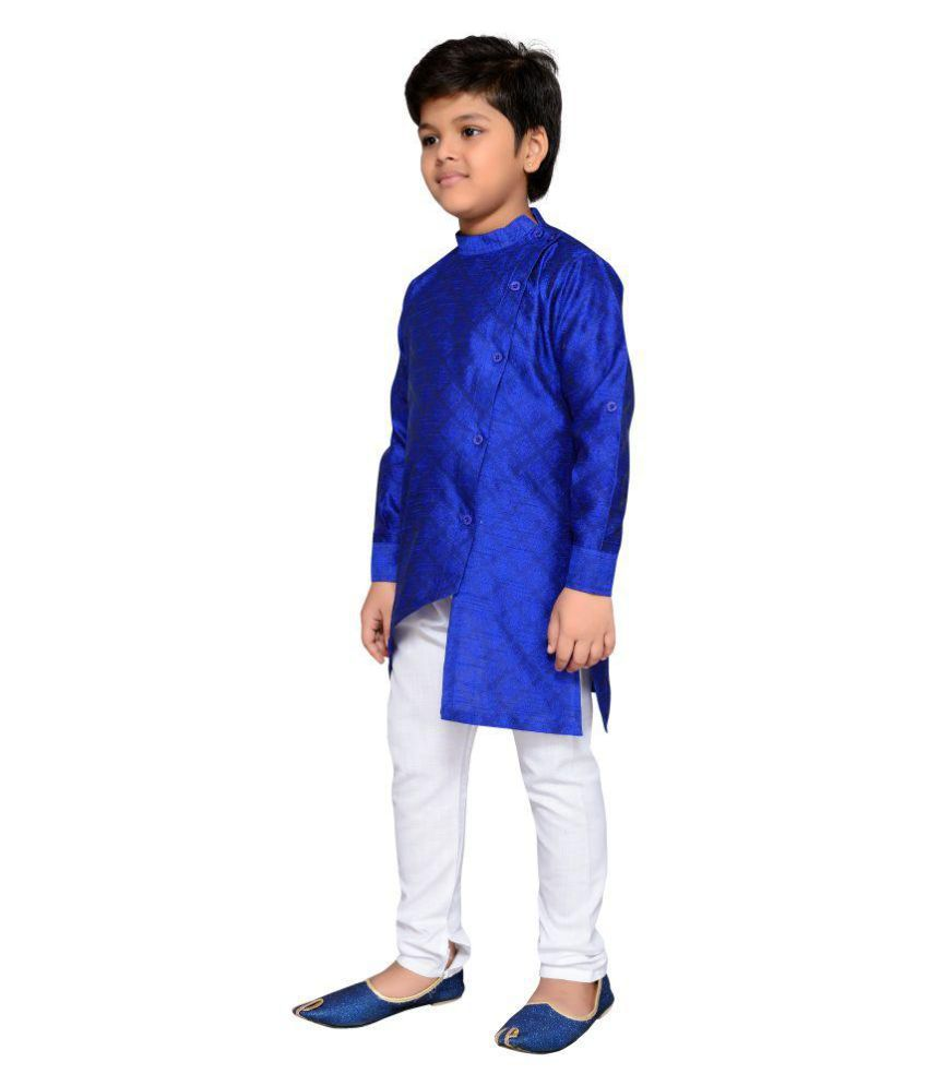 9fc6b3d522 AJ Dezines Kids Kurta Pyjama for Boys - Buy AJ Dezines Kids Kurta Pyjama  for Boys Online at Low Price - Snapdeal