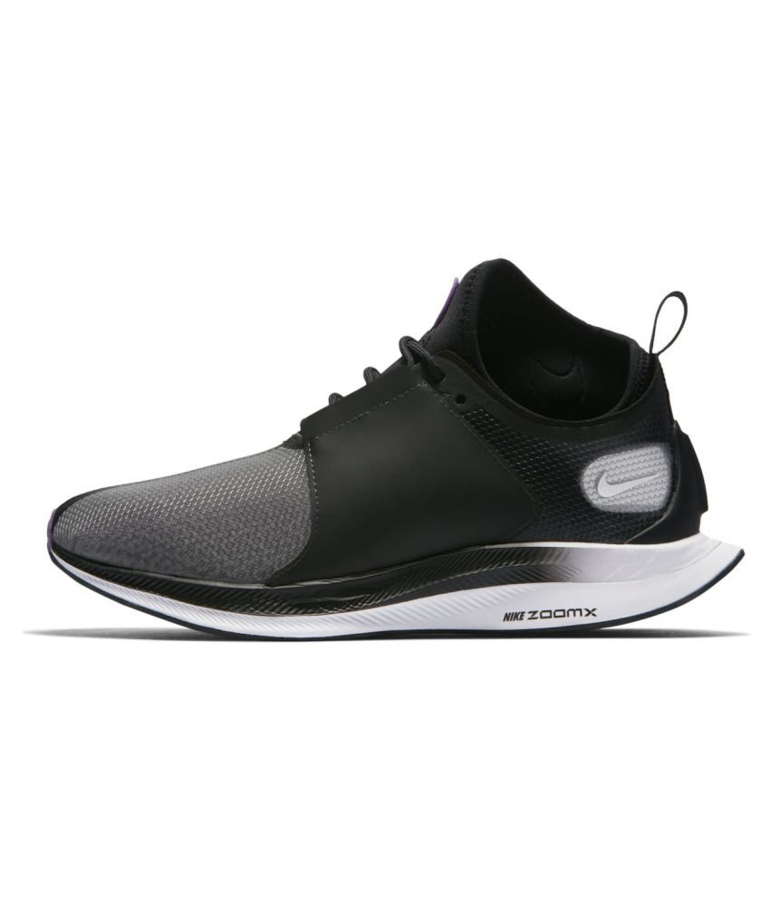 e61feef99c7 Nike Zoom Pegasus Turbo XX 2019 LTD Running Shoes Black For Gym Wear  Buy  Online at Best Price on Snapdeal