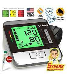 2 ADDED. Dr. Trust digital GOLDLINE Talking with Adapter Automatic Blood Pressure Monitor ...