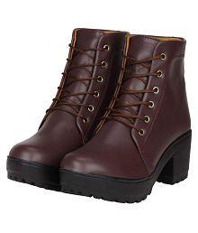 ec9ccf410 Women's Boots: Buy Women's Boots Online at Best Prices in India ...