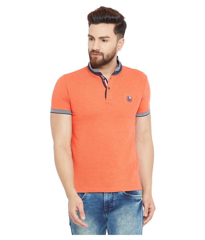 Duke Orange Half Sleeve T-Shirt Pack of 1