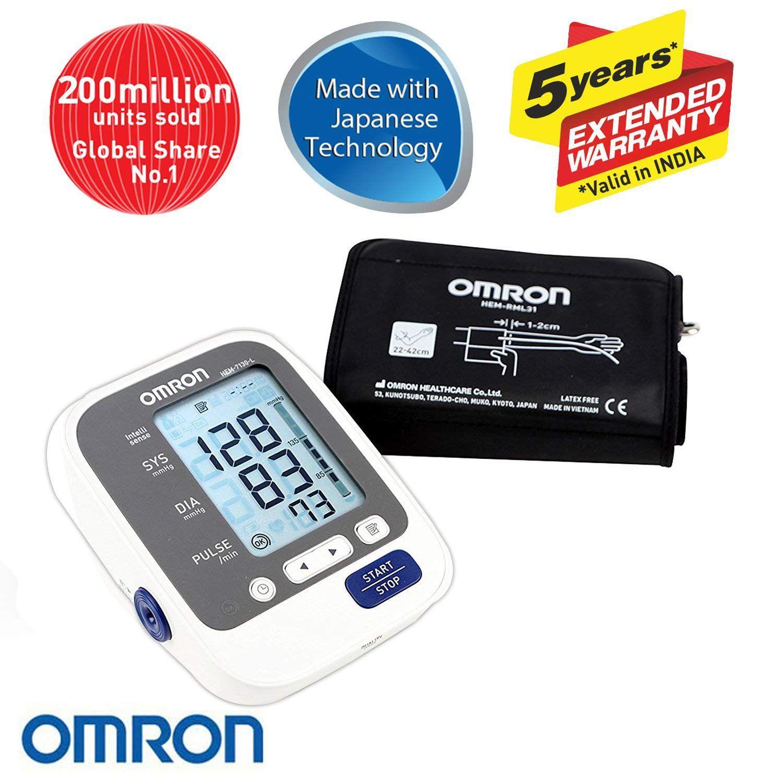 Omron HEM-7130 L Automatic Upper Arm Bp Monitor
