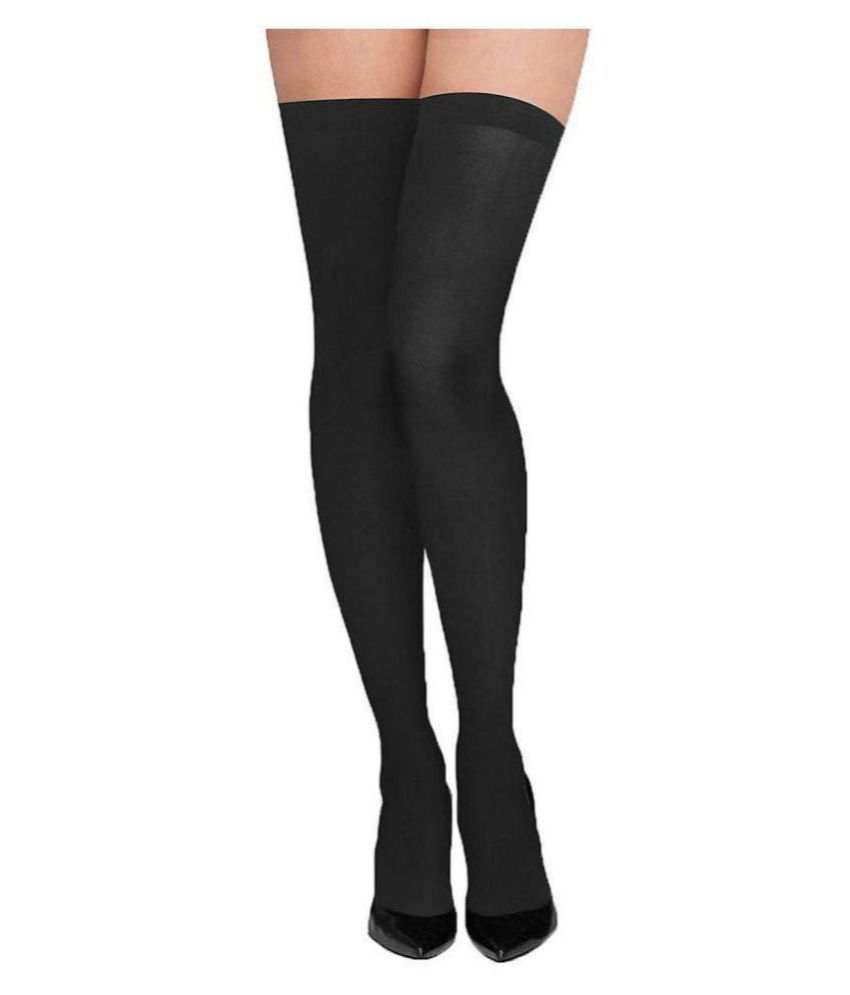 c02ffbb77 Next2Skin - Opaque Thigh-High Stockings  Buy Online at Low Price in India -  Snapdeal