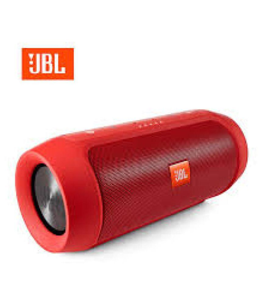 New JBL CHARGE 2 PORTABLE 2 0 Speakers - Red