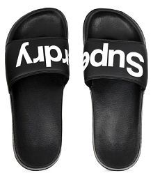 d9d987319238 Quick View. Superdry Black Slide Flip flop