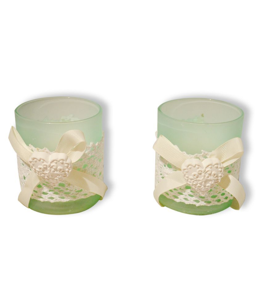 EZ Life Green Jar Candle - Pack of 2