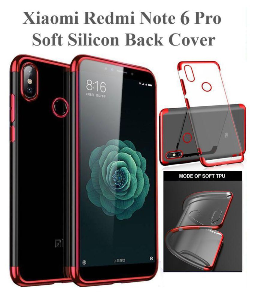 hot sale online 189ee de527 Xiaomi Redmi Note 6 Pro Shock Proof Case shopyholik - Red Original