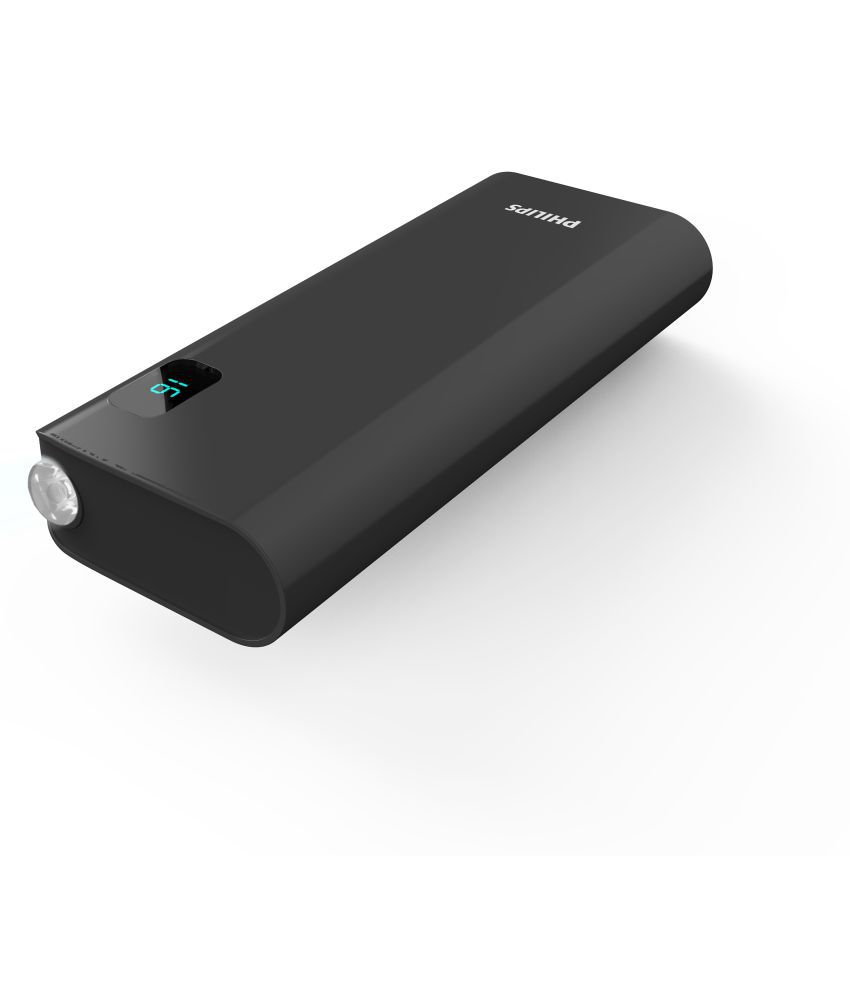 Philips DLP10016B 10000 -mAh Li-Ion Power Bank Black - Power Banks Online at Low Prices   Snapdeal India