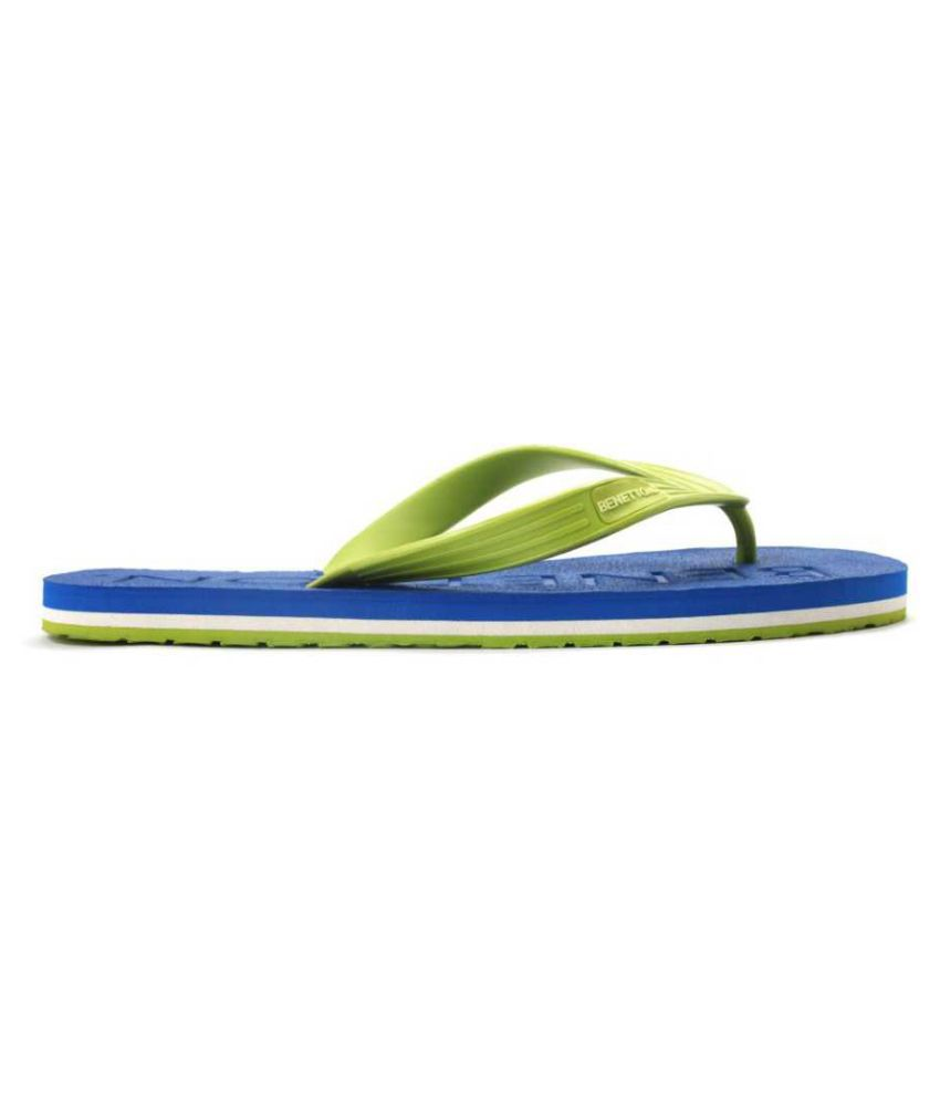 706fab590 United Colors of Benetton Green Thong Flip Flop Price in India- Buy United  Colors of Benetton Green Thong Flip Flop Online at Snapdeal