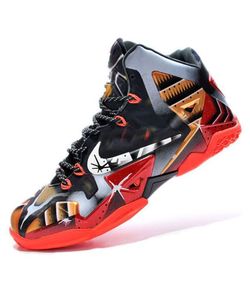 419e052f277 Nike Red Basketball Shoes - Buy Nike Red Basketball Shoes Online at Best  Prices in India on Snapdeal