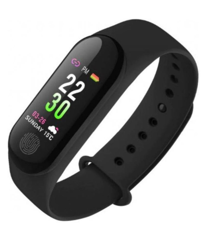 DASHING M3 Band Activity Tracker | Blood Pressure| Heart Rate | Water Proof Band