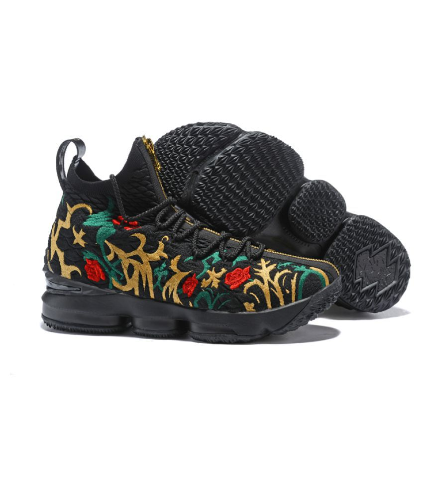 """buy online b6580 a4cec Nike LeBron 15 """"King s Crown"""" 2019 Black Basketball Shoes - Buy Nike LeBron  15 """"King s Crown"""" 2019 Black Basketball Shoes Online at Best Prices in  India on ..."""