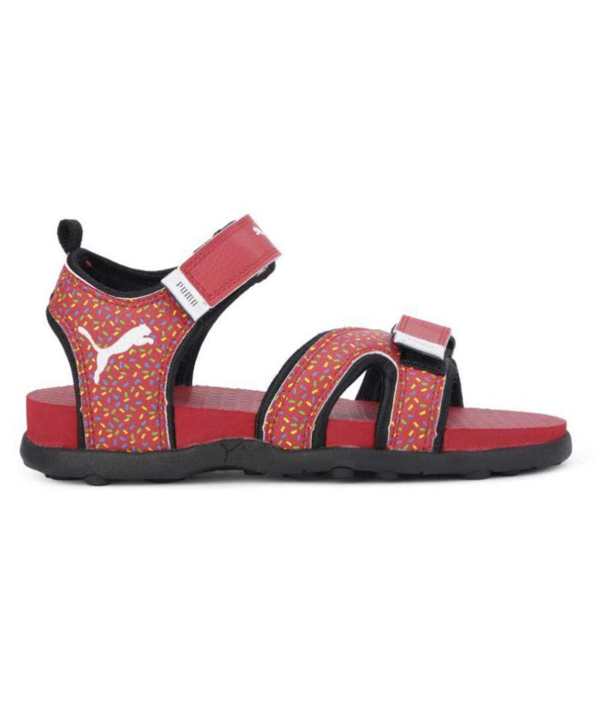 75884a111aed Puma Unisex Kids Velcro Sports Floaters Sandals Price in India- Buy ...