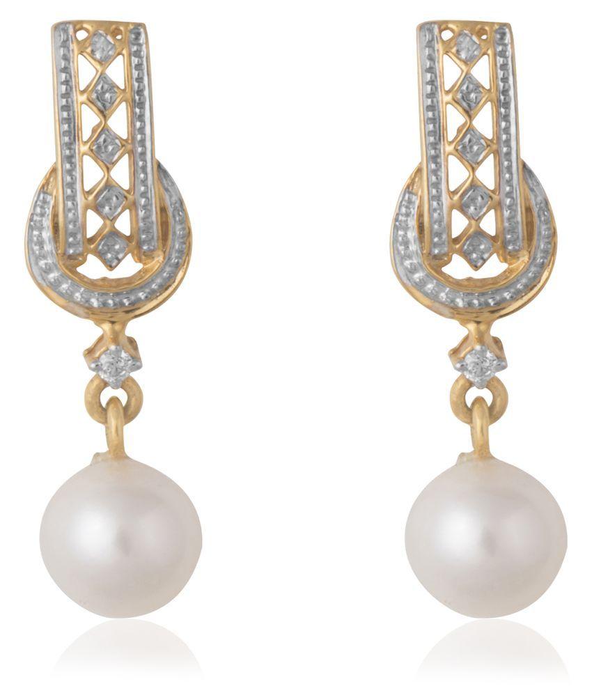 FACETZINSPIRE 14k Gold Diamond Hangings