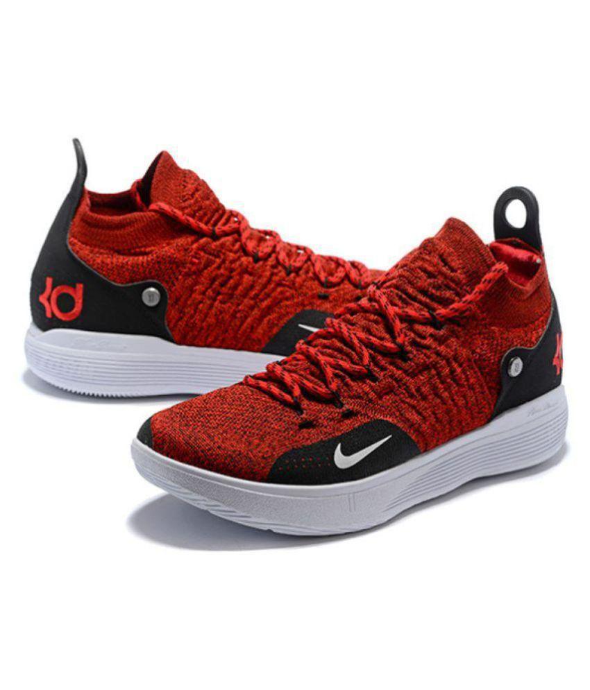 size 40 b6290 6bb4d ... Nike KD 11 University Red Basketball Shoes ...