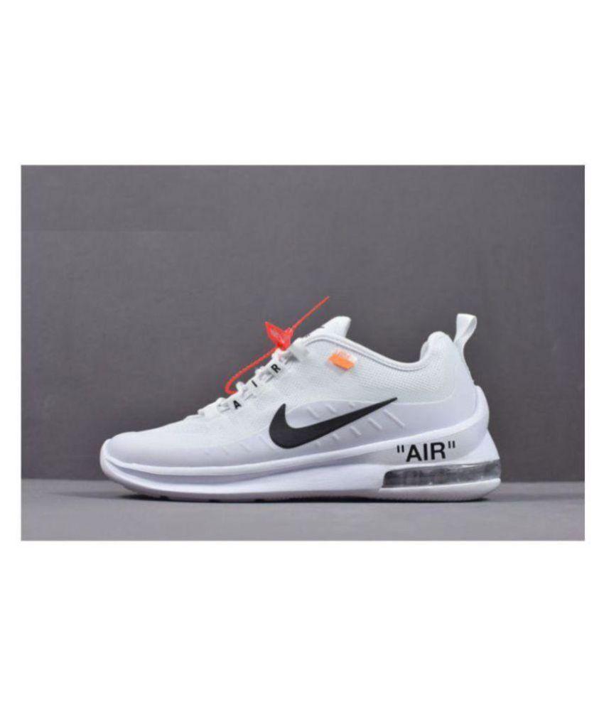 Nike Air Max Axis White Running Shoes