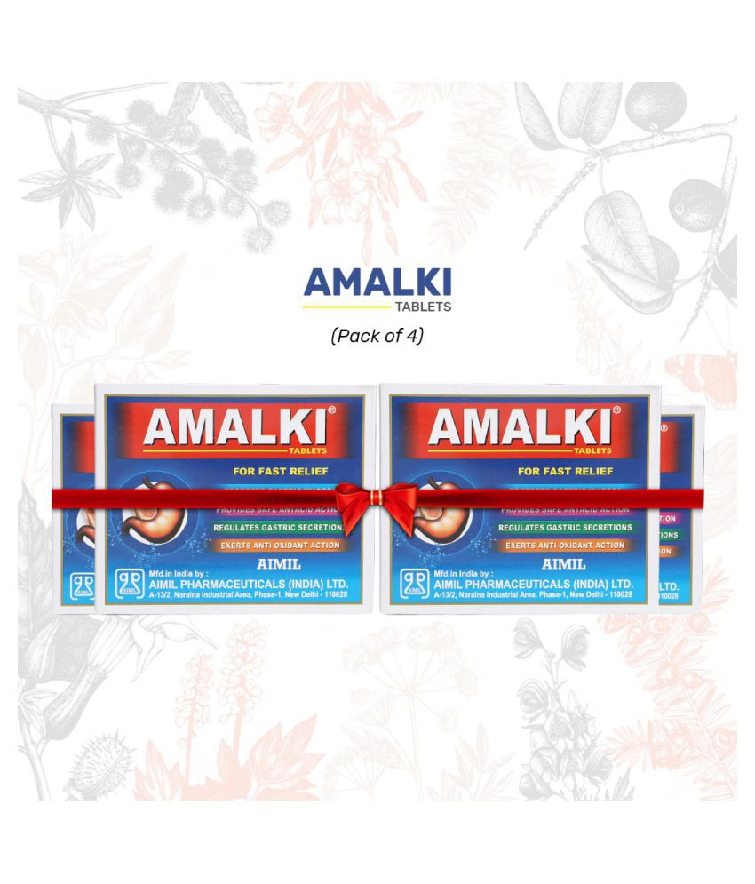 Aimil Amalki For Hyper Acidity Tablet 30 gm Pack Of 4