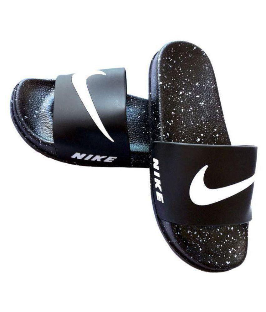 Puma Black Slide Flip flop Price in