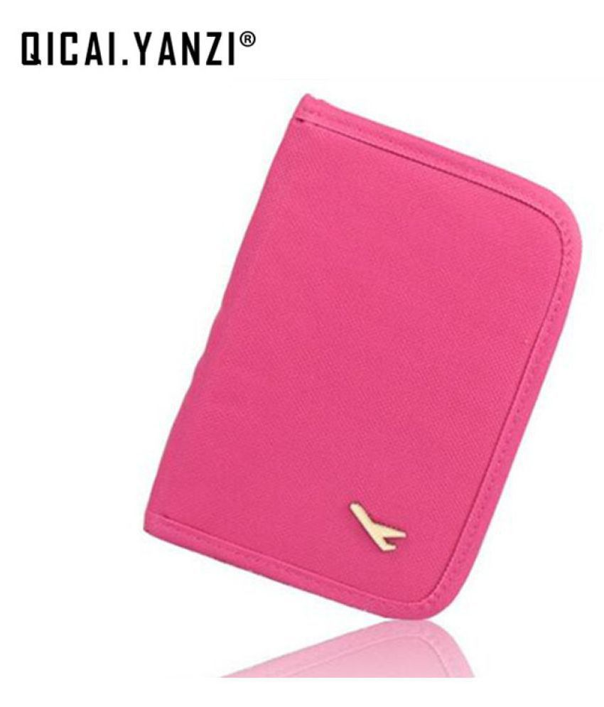 95e2ca3a3a52 House Of Quirk Pink Passport Holder - 1 Pc