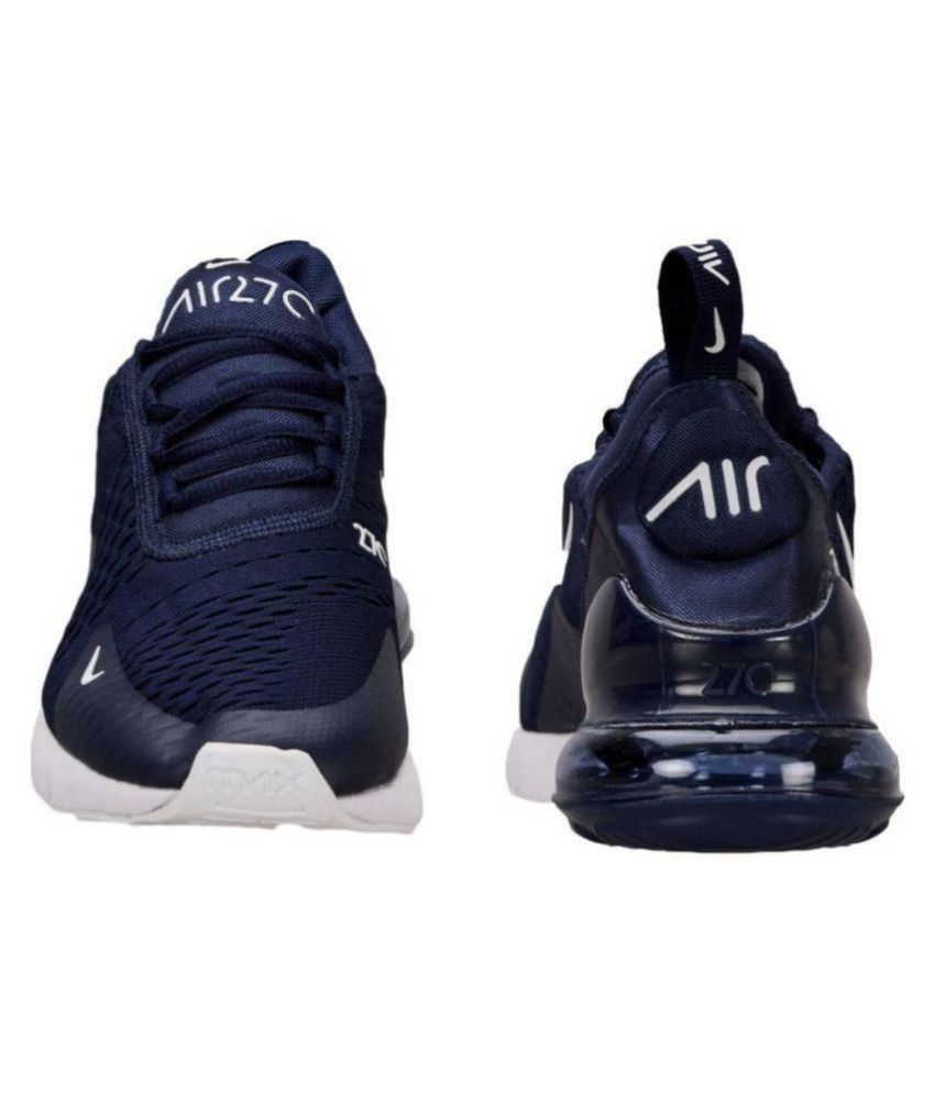 Nike air max 27 c Running Shoes Blue  Buy Online at Best Price on ... 8d26e6fa4