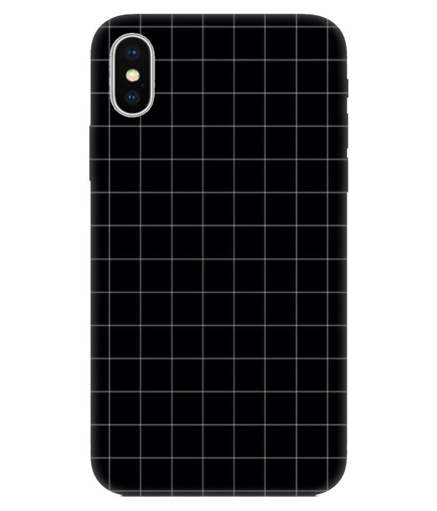 Apple iPhone X Printed Cover By Crockroz Patterns