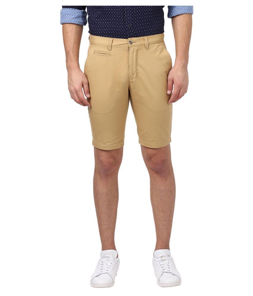 Park Avenue Brown Shorts