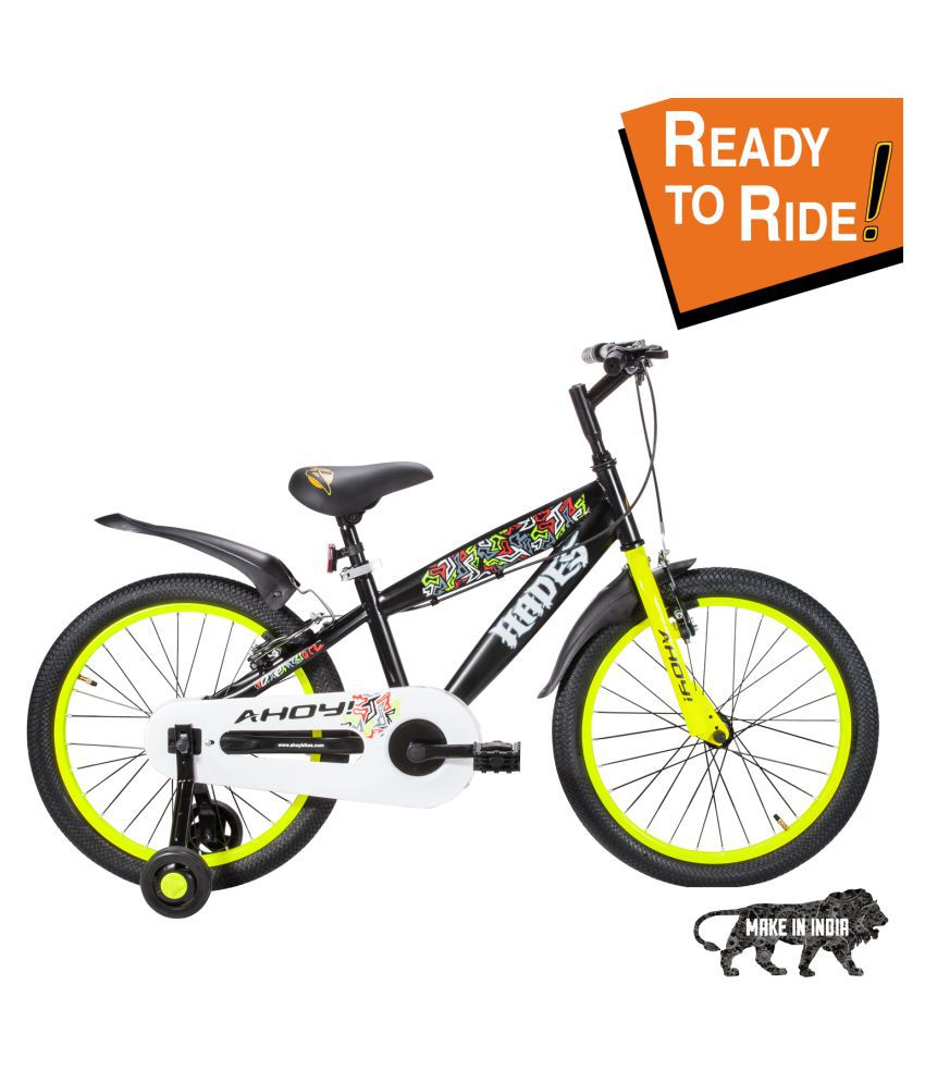 Ahoy Hades For 7 To 10 Years Boys Yellow 50 8 Cm 20 Road Bike