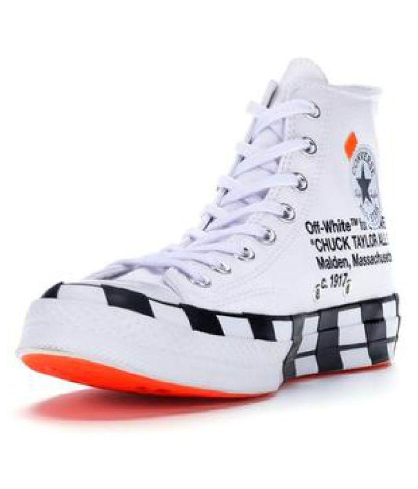 16f4c8a18 Converse Lifestyle White Casual Shoes - Buy Converse Lifestyle White Casual Shoes  Online at Best Prices in India on Snapdeal