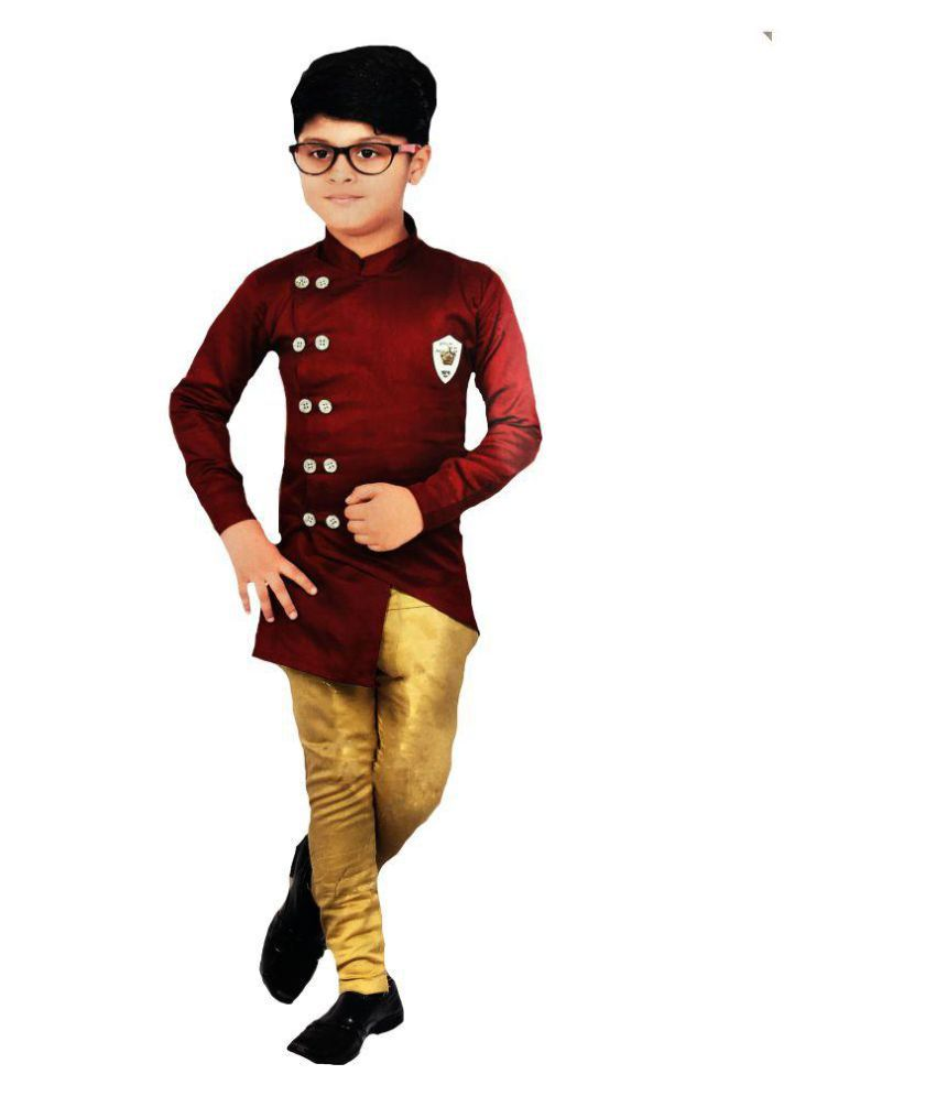 3e41ffa9ff94b Boys party wear dresses Pant and shirt by Kashvi - Buy Boys party wear  dresses Pant and shirt by Kashvi Online at Low Price - Snapdeal