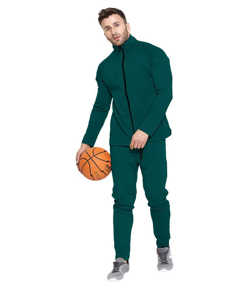 Chkokko Men Tracksuit Gym Jogging Running Slim Fit Warm Track Suit for Men