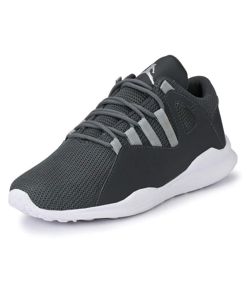Bodam Lifestyle Gray Casual Shoes