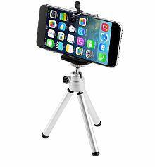 Portable 360 Rotatable Super Lightweight Universal Mini Stand Tripod Mount Mobile Phone Holder