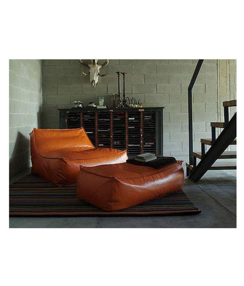Brilliant Lounger Bean Bag Sofa Bean Stretchable Bag Leather Bean Bag Pabps2019 Chair Design Images Pabps2019Com