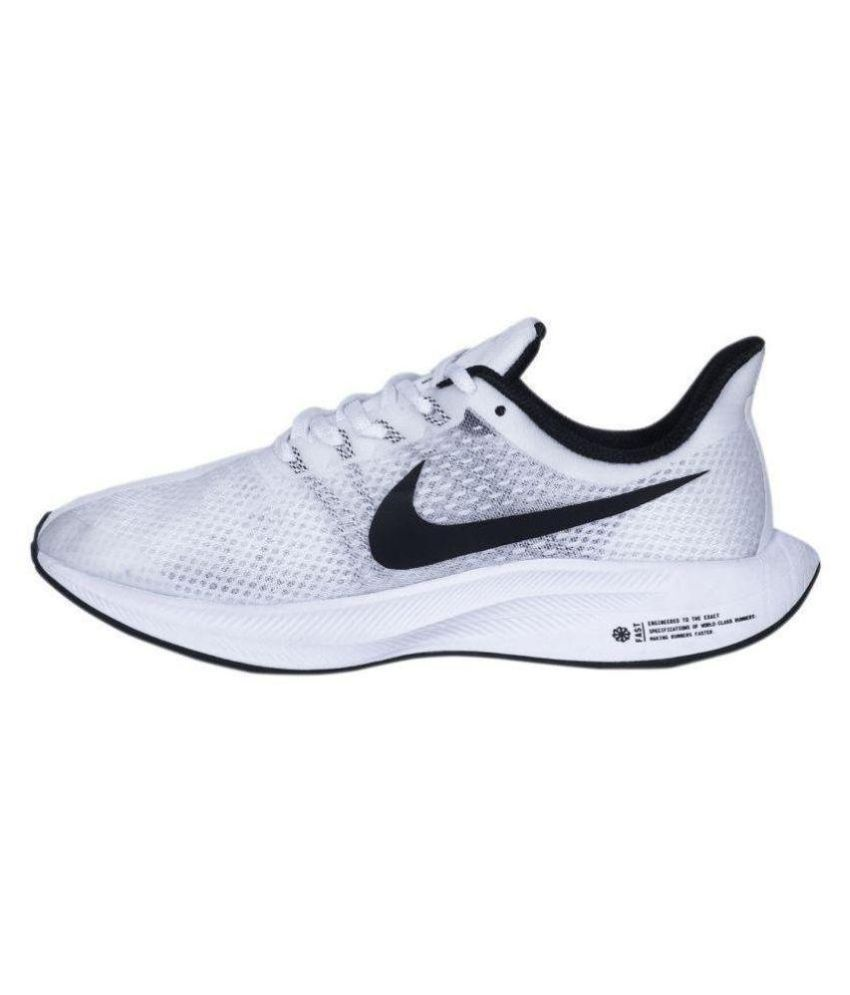 half off 99ef2 4ce71 Nike 2018 ZOOM X PEGASUS 35 TURBO Running Shoes White