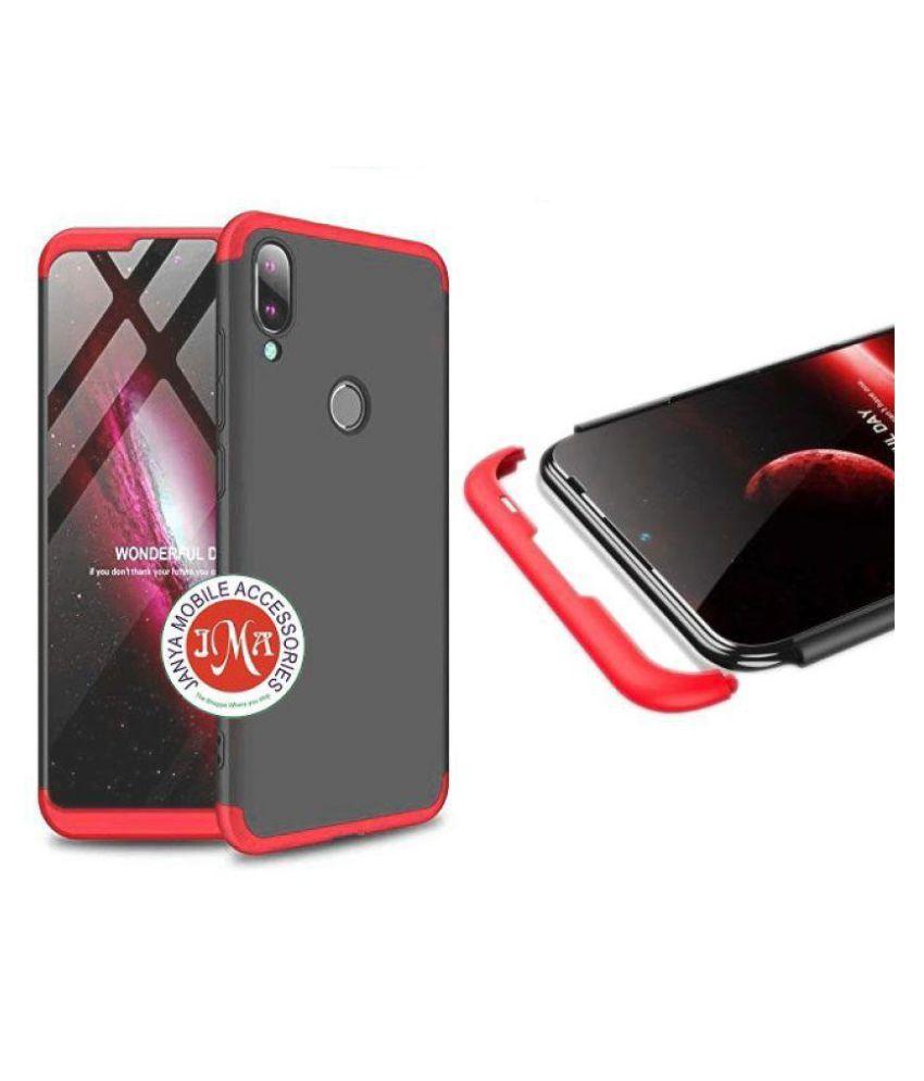 Vivo Y93 Hybrid Covers JMA - Red Original Gkk 360° Protection Slim Case
