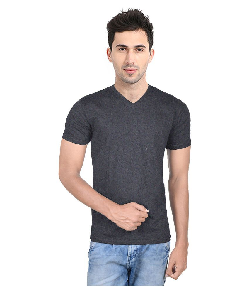 Kore Clothing Point Khaki Half Sleeve T-Shirt Pack of 1