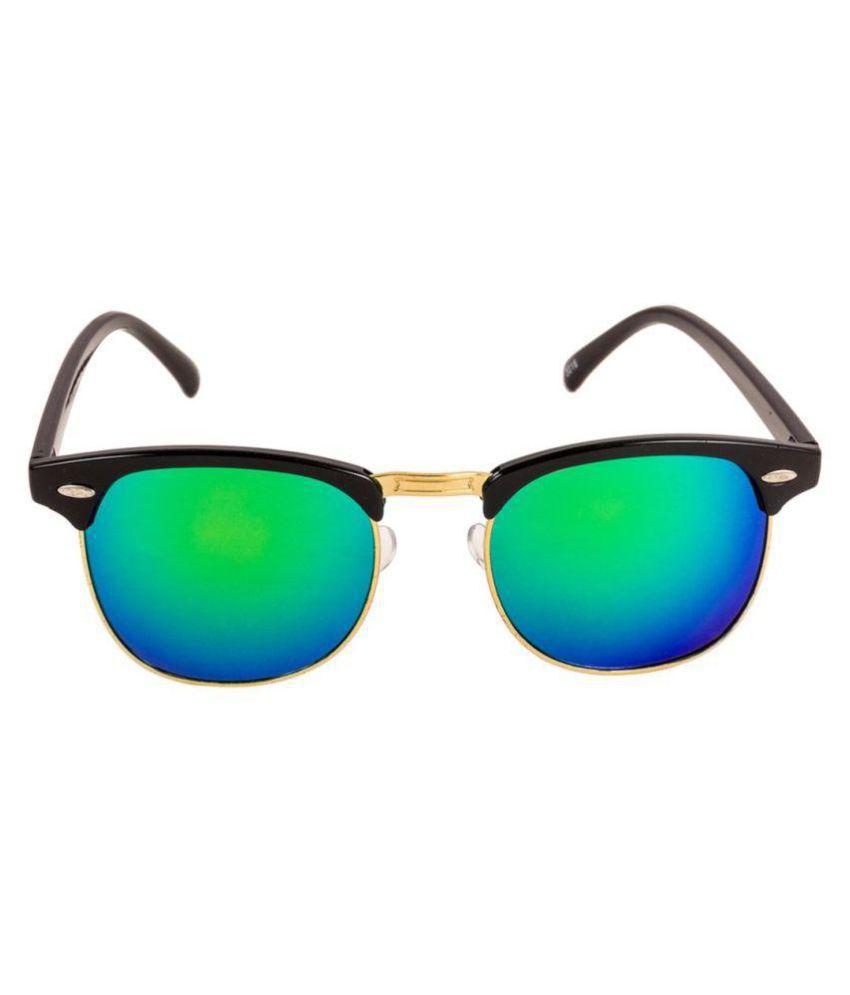 Adrian - Blue Clubmaster Sunglasses ( BCS-1160-60 )