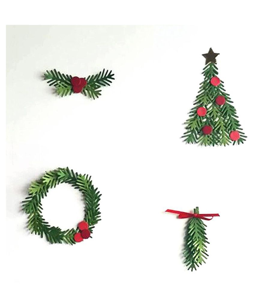 Christmas Tree Garland.Christmas Tree Garland Cutting Dies Stencil Set Scrapbook Diy Paper Craft Gift