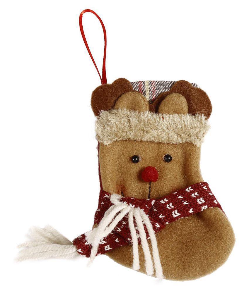 Festival Party Cute Christmas Santa Hang Decor Ornaments Socks