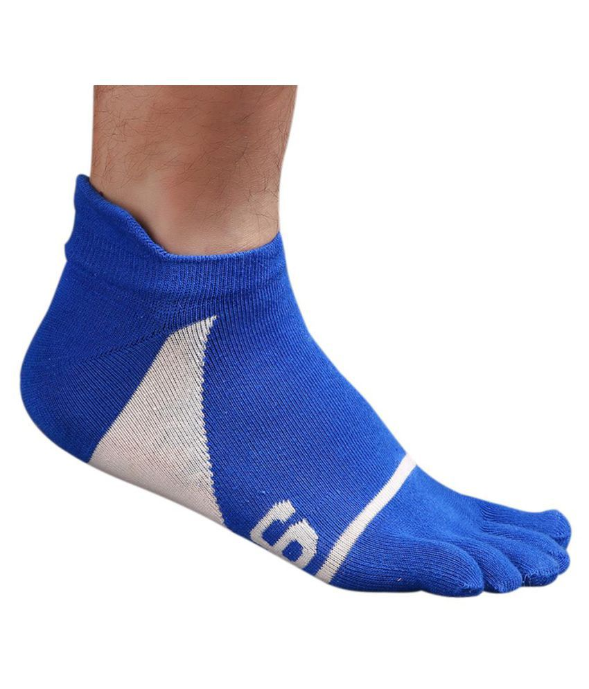 Men's Casual Five Fingers Toes Comfortable Sports Soft Cotton Boat Socks