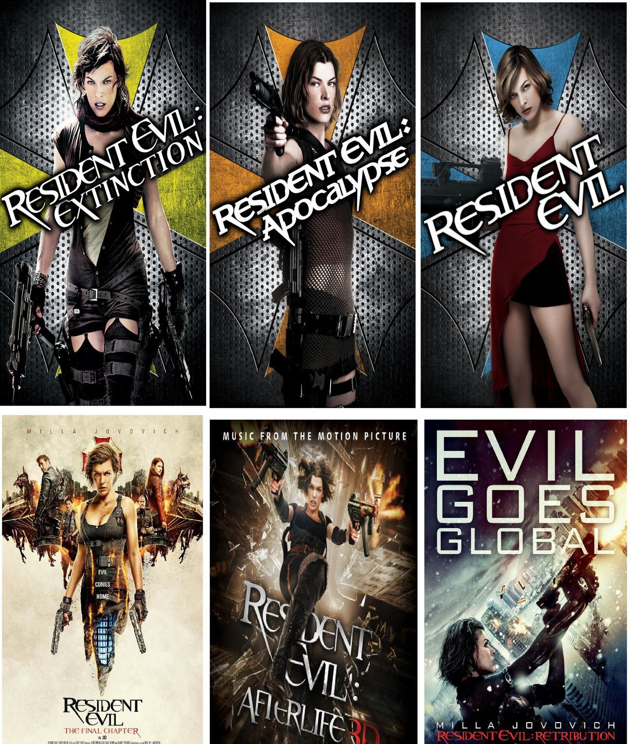 Resident Evil All 6 Parts Full Movies In Hindi Dvd Hindi