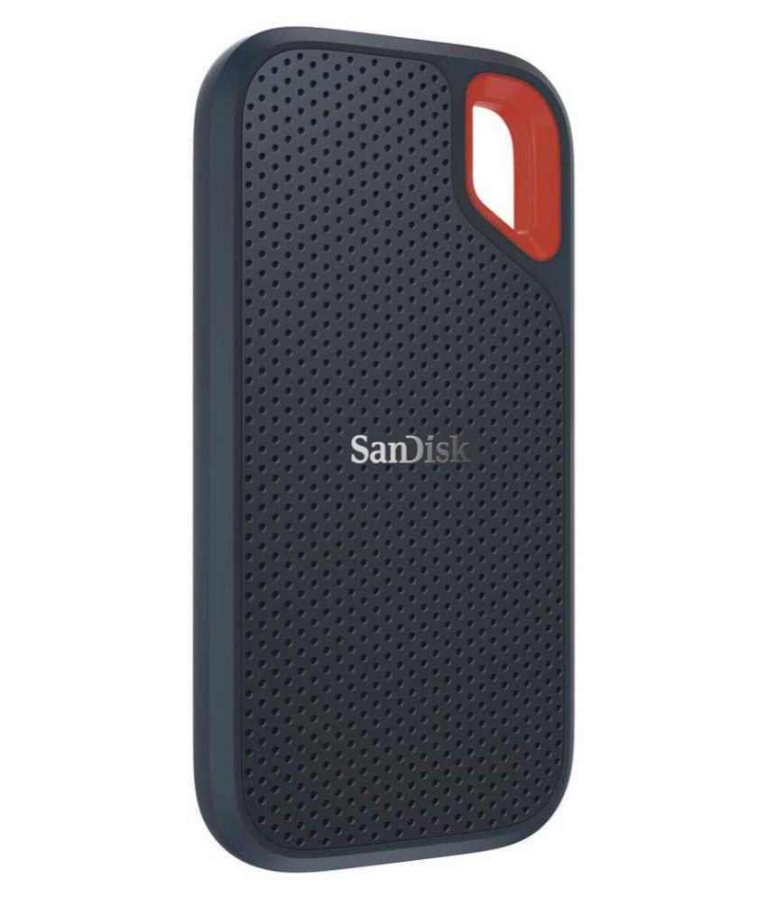 SanDisk Extreme 250 GB USB 3.1 External SSD  (Black)