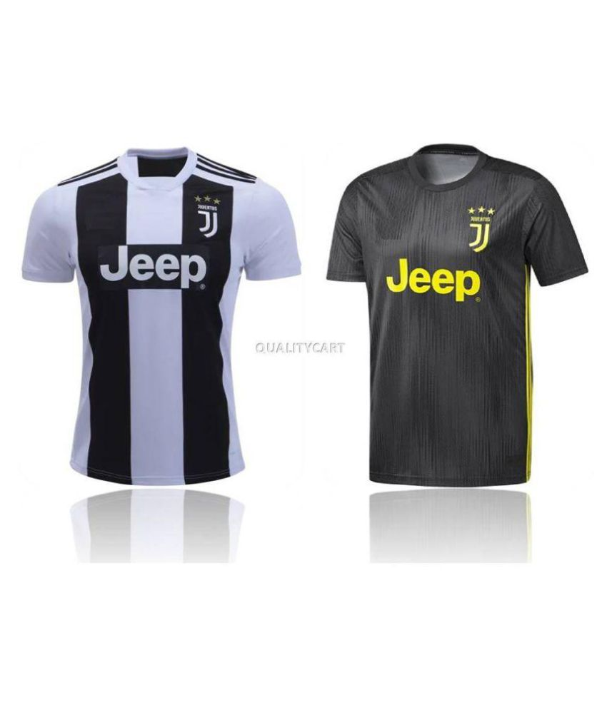 3bc894e2 Juventus Combo of Home & Away Jersey (Pack of 2) Only jerseys: Buy Online  at Best Price on Snapdeal