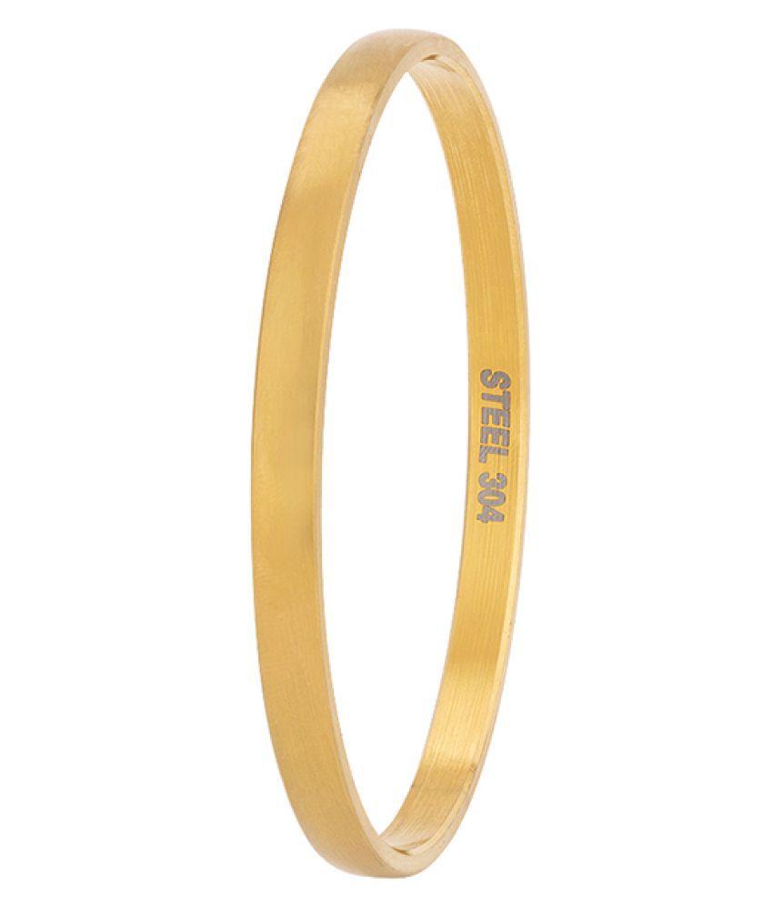 Dare Gold Stainless Steel Sikkhi Kadas